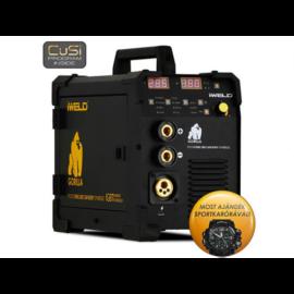 MIG/MAG Heg. gép Iweld GORILLA POCKETMIG 205 CarBody Synergic,190A-60%, pisztoly,kábelekkel,+ 5kg elektróda 80POCMIG205CBS