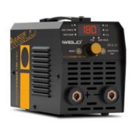 Heg. inverter IWELD Gorilla PocketPower190 VRD (180A-60%Bi,230V±15%) test és munka kábelekkel műa. koffer+ Ajándék 5kg elektróda 80POCPWR190
