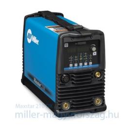 Miller MAXSTAR 210 DX, HF és TIG-lift AVI DC impulz 120-480V hegesztőgép (1 és 3 fázisról is 1–210 A,21.3 kg)   907684001