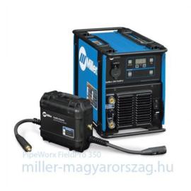 Miller PipeWorx 350 FieldPro többfunkc.heg.áramforrás 1+3 fázisról(Autoline) CC/CV MIG,MMA,Cell,TIG-Lift, 350A@60%,  907633