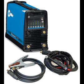 Miller DYNASTY 210 DX,HF és TIG-lift AVI AC/DC impulz 120-480V hegesztőgép  Weld Ready csomag (AVI pisztollyal és testkábellel)  029083228
