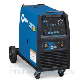 Miller MIGMatic 250 DX (Delux) 3PH 400V, fokozatkapcsolós,szinergikus vezérlésű heg.gép,250A@35%,1 pár görgő 73kg, Utolsó!!  029015525