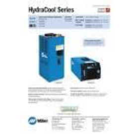 Miller vízhűtőkör  Hydracool2 230V 50/60Hz (Autocontinuum 500-hoz is) 028042106