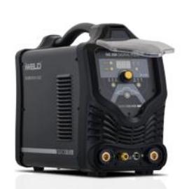 Heg. inverter IWELD TIG 250 Digital Pulse (250A@60%), 4fm-es SR 26 AVI pisztollyal,test és munka kábelekkel 800TIG250DIPU