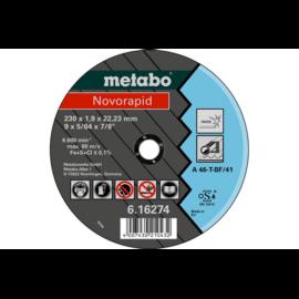 230x1,9x22,23 vágókorong Metabo  Novarapid 616274000 Akciós áron, amíg a készlet tart!