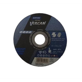 230x1,9mm vágókorong Norton Vulcan kék (A46T-BF41) Acél (25db/csomag) 3501041