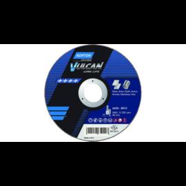 150x2,0x22,2mm vágókorong Norton Vulcan kék (A30S-BF41) Acél + Inox 2in1 (25db/csomag) 35010187