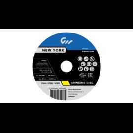 125x6,5x22,2mm Tisztítókorong G-Wendt New York Acél (10db/csomag) W270178