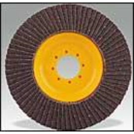 125mm-A80 TigrisCápa/TigerShark flex lamellás csisz. korong (alumoz, színesfémekre) élelmiszerip-ban is opford.szám:5000-8000/min.