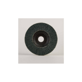 125mm-P80 lamellás csiszolótányér Powerflex-Köln Alumíniumra kónuszos 10db/csomag (W229234)