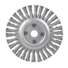 Drótkorong 125x22,2 fonott  KM (Vékony 6mm) 900590416421