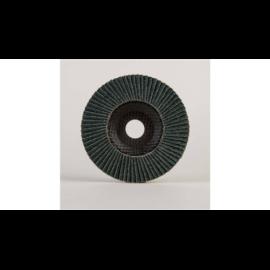 125mm-L60 lamellás csiszolótányér Powerflex-Köln Alumíniumra, bordó szemcsés kónuszos 10db/csomag (W229233)