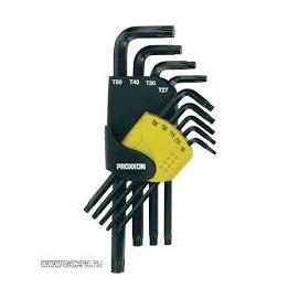 Torx kulcs klt. 9 Részes Proxxon (23.944)