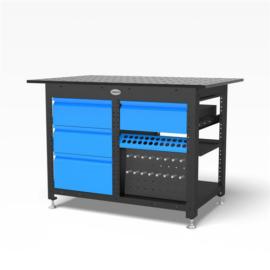 Siegmund S22 Workstation hegesztőasztal 4db fiókkal (2-224005)