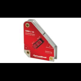 Mágnes hegesztéshez kapcsolható mágneses szögbeállító  30kg 45°90° Schweisskraft SWM-2 30  1790029   SCHWEISSKRAFT   1790029