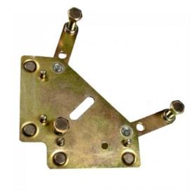 Mágneshatároló StrongHand MGH20 Gusset Magnet  , méret: 114x114mm