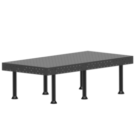 Vector Dragon hegesztő asztal VS-WT Lv6mm 16mm-es furatokkal 2400x1400x6mm 6db lábbal