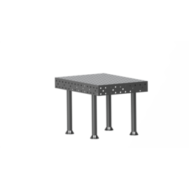 Vector Dragon hegesztő leszorító asztal VS-WT Lv8mm 28mm furatokkal 2000x1000x8mm 4db lábbal
