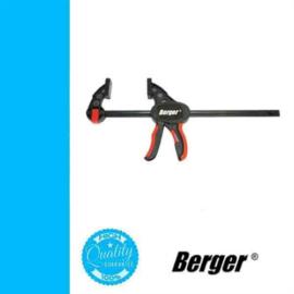 Szorító egykezes nyílás: 900mm, BERGER szorítóerő:150kg, cikkszám:041601-0121