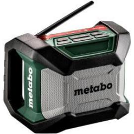 METABO R 12-18 BT Akkus Bluetooth rádió + hálózati adapter (Akku és töltő nélkül!) (600777850)