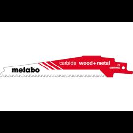 """METABO orrfűrészlap """"carbide wood+metal"""" 150/6-8 TPI 626559000, Akció!"""