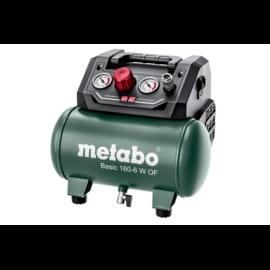 METABO kompresszor Basic 160-6 W OF 6 liter, 8 bar, 8,4kg,65 l/min  (601501000)