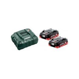 METABO Akkus alapkészlet 2x18V/4,0 Ah LiHD akku+ ASC 55 töltő 685174000