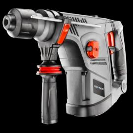 GRAPHITE 58G858 fúró- véső kalapács SDS+ 900W, álló motoros, 5,5kg, 3 funkciós,ütési energia 4,2J!3 év garanciával