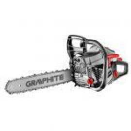 GRAPHITE 58G952 láncfűrész benzinmotoros, 2kW,458 mm, 550 ml üzemanyagtartály, 260 ml lánc olajtartály,8.255mm, lánc beosztás, 0.05