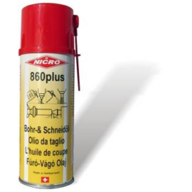Spray; Nicro 860 plus -Inox anyagokra is vágó üregelő 400ml 1AE3013010400ML