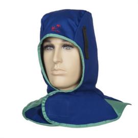 Hegesztő kámzsa égésálló, kék színben Weldas Fire Fox™ 23-6680 XL