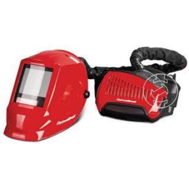 Hegesztő fejpajzs automata frisslevegős VarioProtect XXL-W TC Air látómező mm 83,4 x 100 mm Optimum piros (1654050)