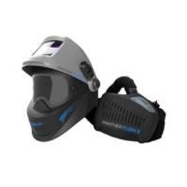 Hegesztő fejpajzs automata friss levegős IWELD PANTHER FLOW 3,felhajtható hegesztő filter,köszörüléshez teljes tér, 8PNTHRFLW3