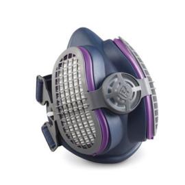 Légszűrő maszk, félárarc Miller LPR-100 HALF MASK, cserélhető HEPA szűrővel S/M méretű ML00894;Opció: rendelhető még aktívszenes szűrőbetét