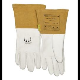 Hegesztő kesztyű AVI WELDAS 10-2000L,DEERSOsoft®, SOFTouch™ puha, barkás szarvasbőr, hasított marhabőr kézelővel,10-2304L