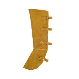Hegesztő kötény, hasított marhabőr, kevlár erősítés (sárga) LEOPARD