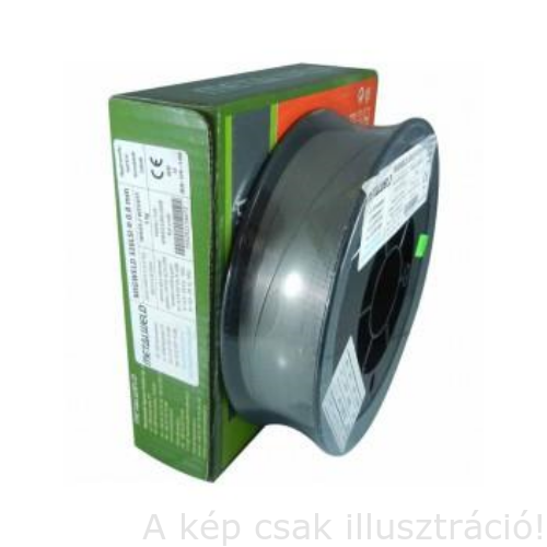 MIG 308LSi (G 19 9 LSi,ER308LSi) 0,6mm 5kg/cs. rozsdamentes huza Metalweld