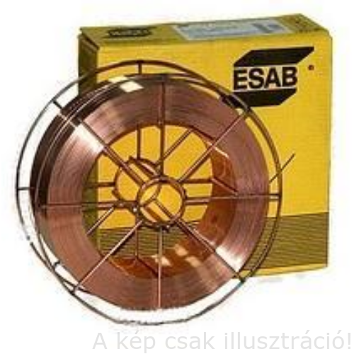 SG2 (EN440:G3Si1) 1,0mm 18kg/cs. hegesztőhuzal, precíziós, D300-as csévén ESAB OK Autrod 12.51