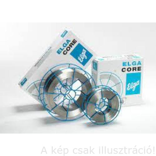 MIG porbeles huzal 1,4mm ElgaCore MATRIX (E70C 6M H4) fémpor töltésű huzal horganyzott felületre is! (15kg/cs,D300)