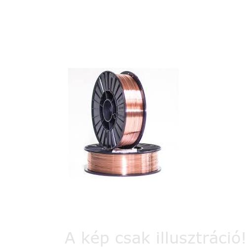 SG3 (EN440:G4Si1) 0,8mm Dratec rezezett (5,0kg/cs.,tömör hegesztőhuzal, védőgázas D200 FÉMKOSÁRON, precíziós)