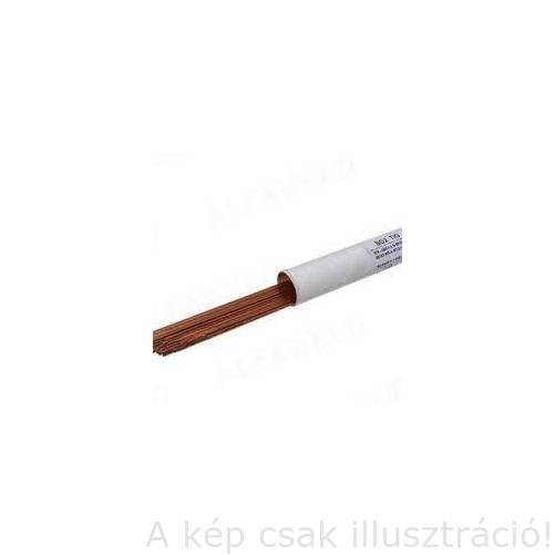 TIG SG2 2,4x1000mm AVI heg.pálca Trader-olasz rezezett 5kg/csomag, TIGSG22,4