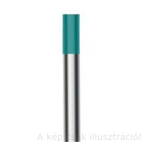 Volfrám elektróda WM20/WS2 (türkiz) ritkaföldfém 1,6x175mm 10db/csomag