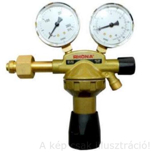 """Reduktor CO2 'RHÖNA'  Ar/CO2 315bar/32liter/perc G1/2""""-ra (átalakítva) *G1/4 kimenő GCE 0780647"""