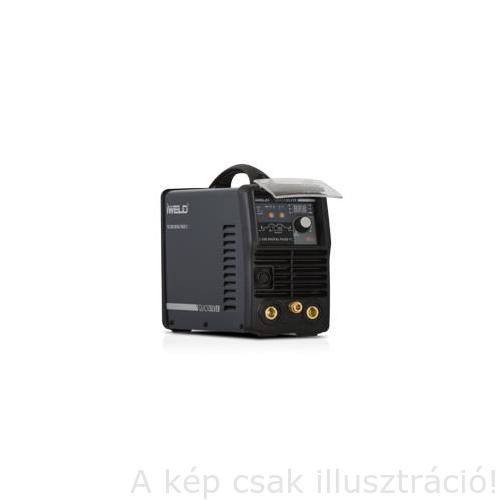 Heg. inverter IWELD  TIG 220 Digital Pulse RC 4m-es SR 17 AVI pisztollyal,test és munka kábelekkel