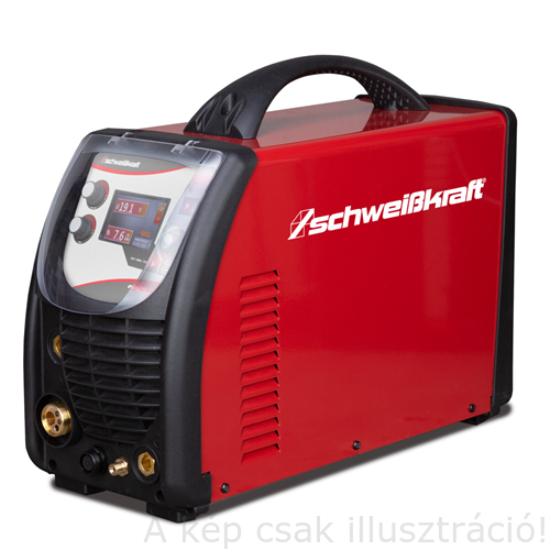 Hegesztőgép EASY-MIG 181 MULTI (MIG, AWI, elektróda kombi hegesztőgép kiegészítőkkel)   SCHWEISSKRAFT   1071181