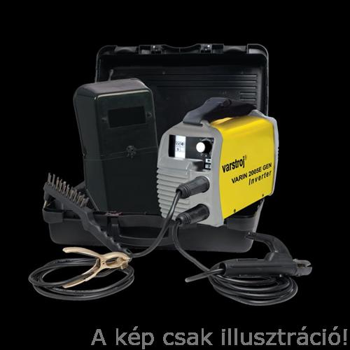 Heg. inverter Varin 2005 E CELL GEN Cellre is,5 – 200A, műanyag kofferben