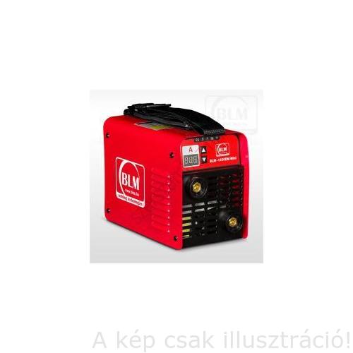 Heg. inverter BLM 1460DM Mini, MMA(140A/60%Bi) test és munkakábellel,Liftes(emeléses)AVI gyújtással,papír dobozban