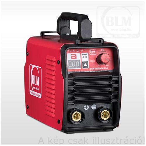Heg. inverter BLM 1660 DTM Mini,MMA/Lift-Tig (10-160A@60%Bi)tartozék:test és munkakábellel,koffer Várható szállítás: május 1. hetel