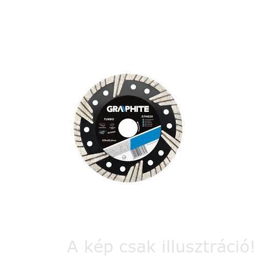 Gyémánt Vágótárcsa  230 TURBO 3.1 MM  GRAPHITE 57H630