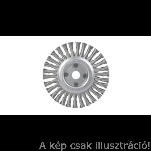 Drótkorong 125x22,2 fonott  LESSMANN (Vékony 6mm) 45020133